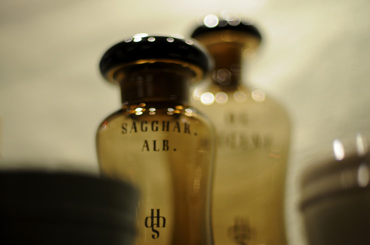Top 10 Science Poems - bottle at Heidleberg Apothacary Museum